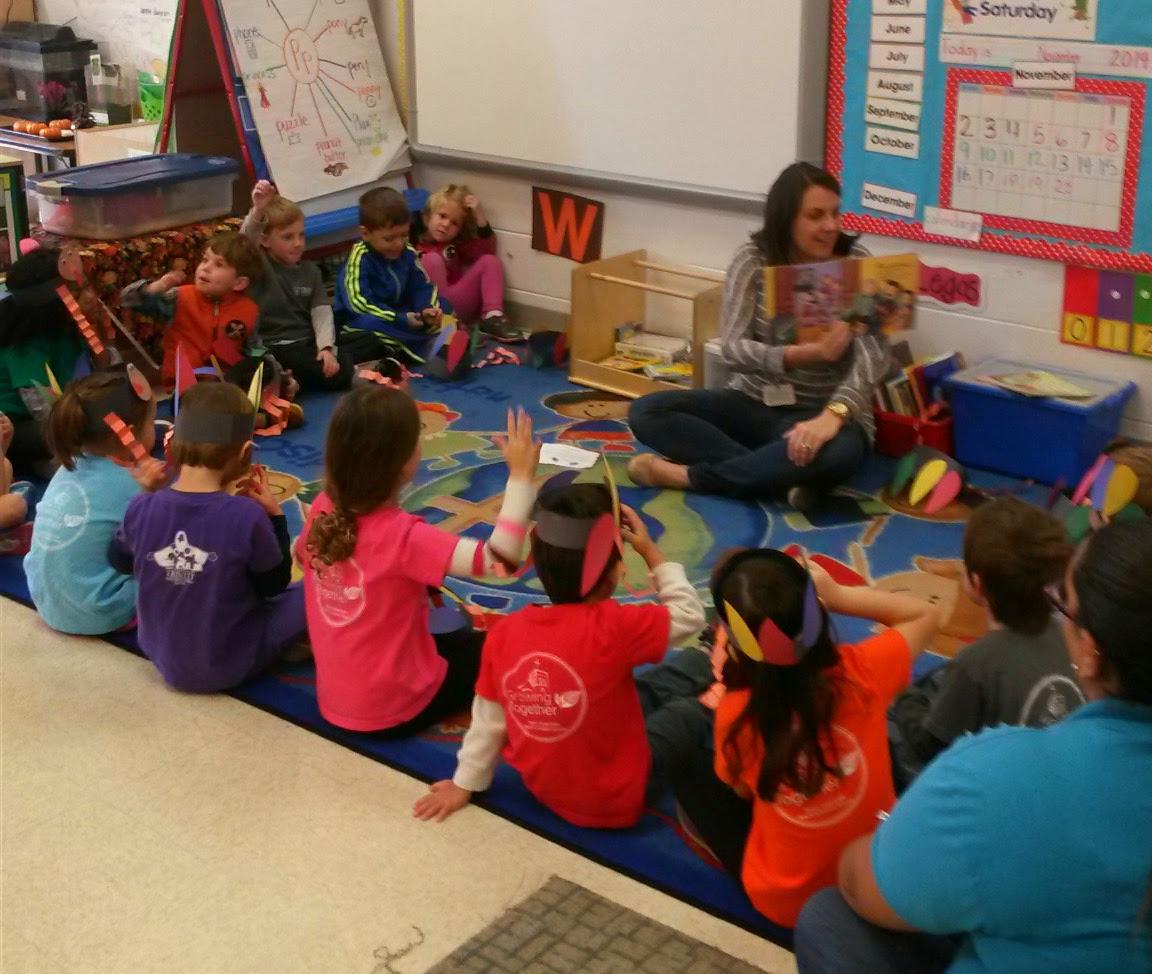 Thankful Hearts in VPK and Kindergarten