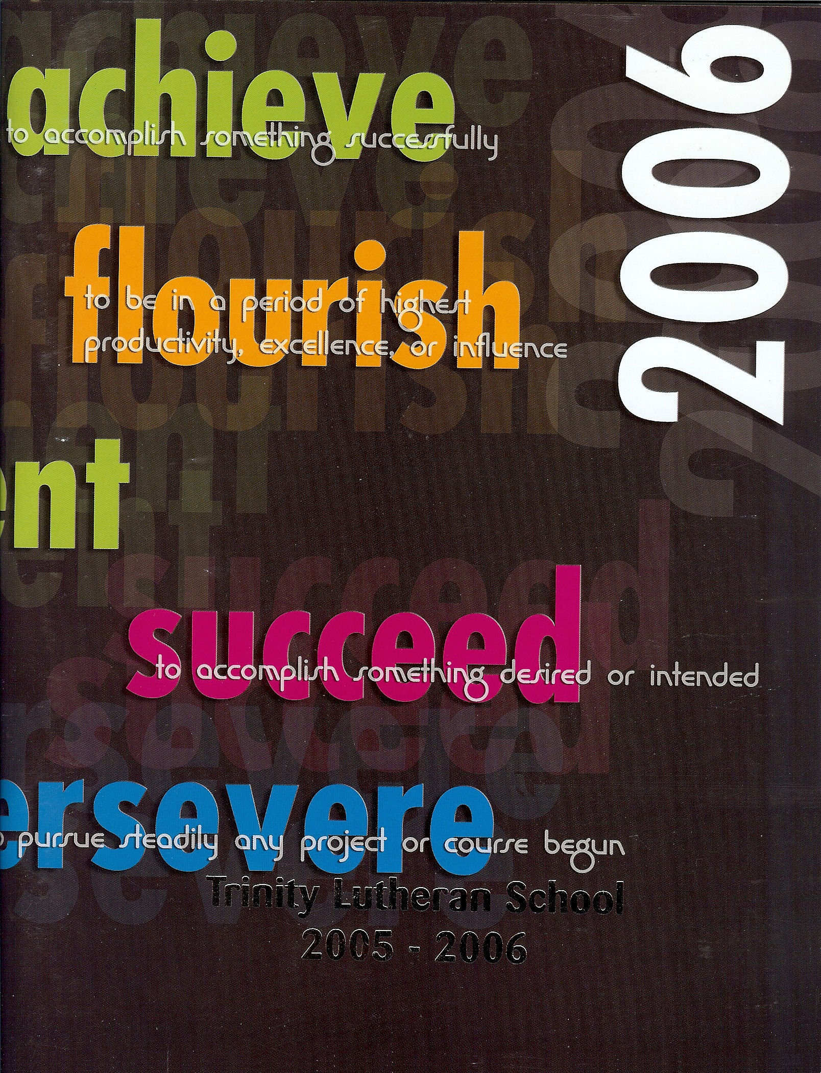 05-06 Yearbook Cover