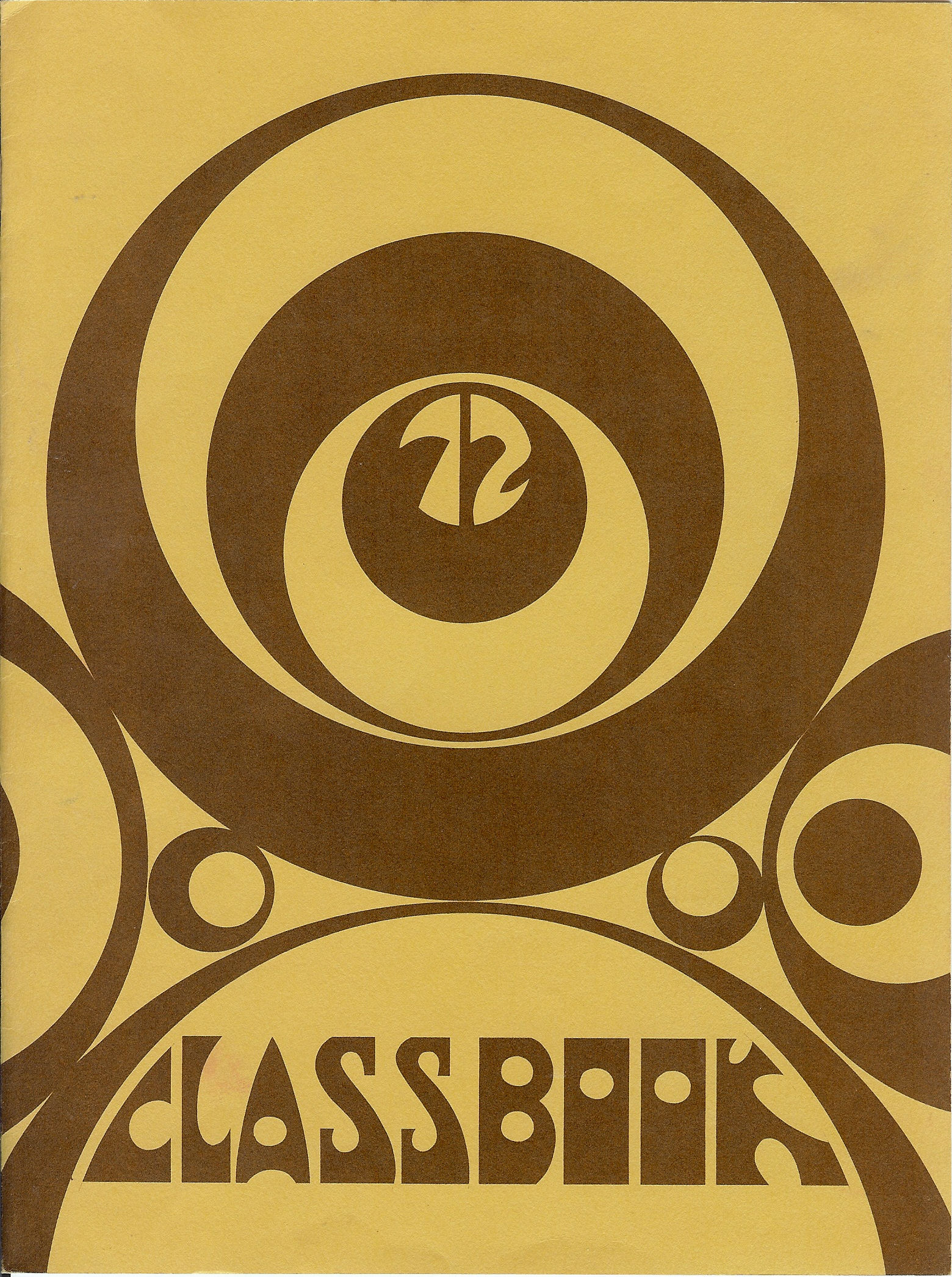 71-72 Yearbook Cover
