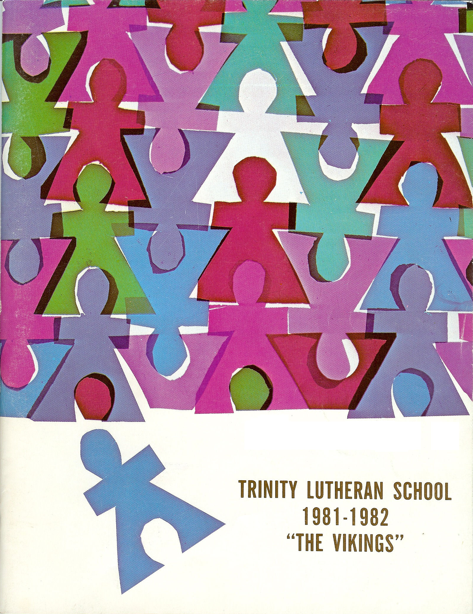 81-82 Yearbook Cover