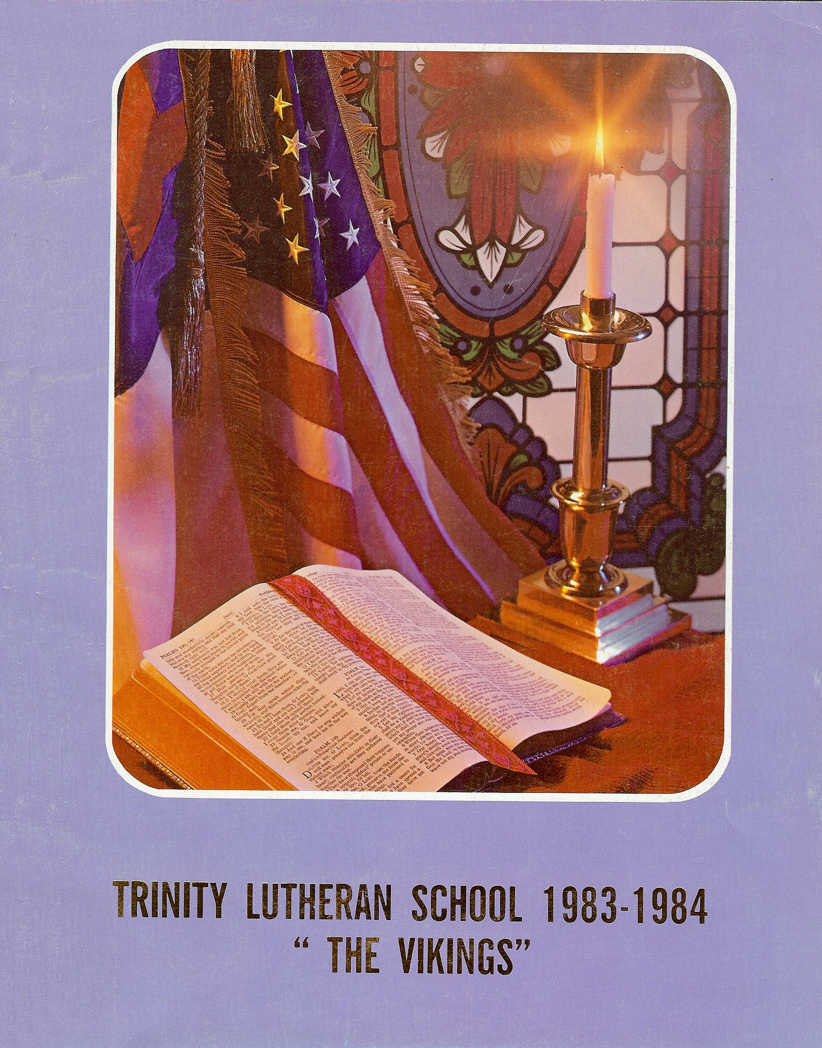 83-84 Yearbook Cover