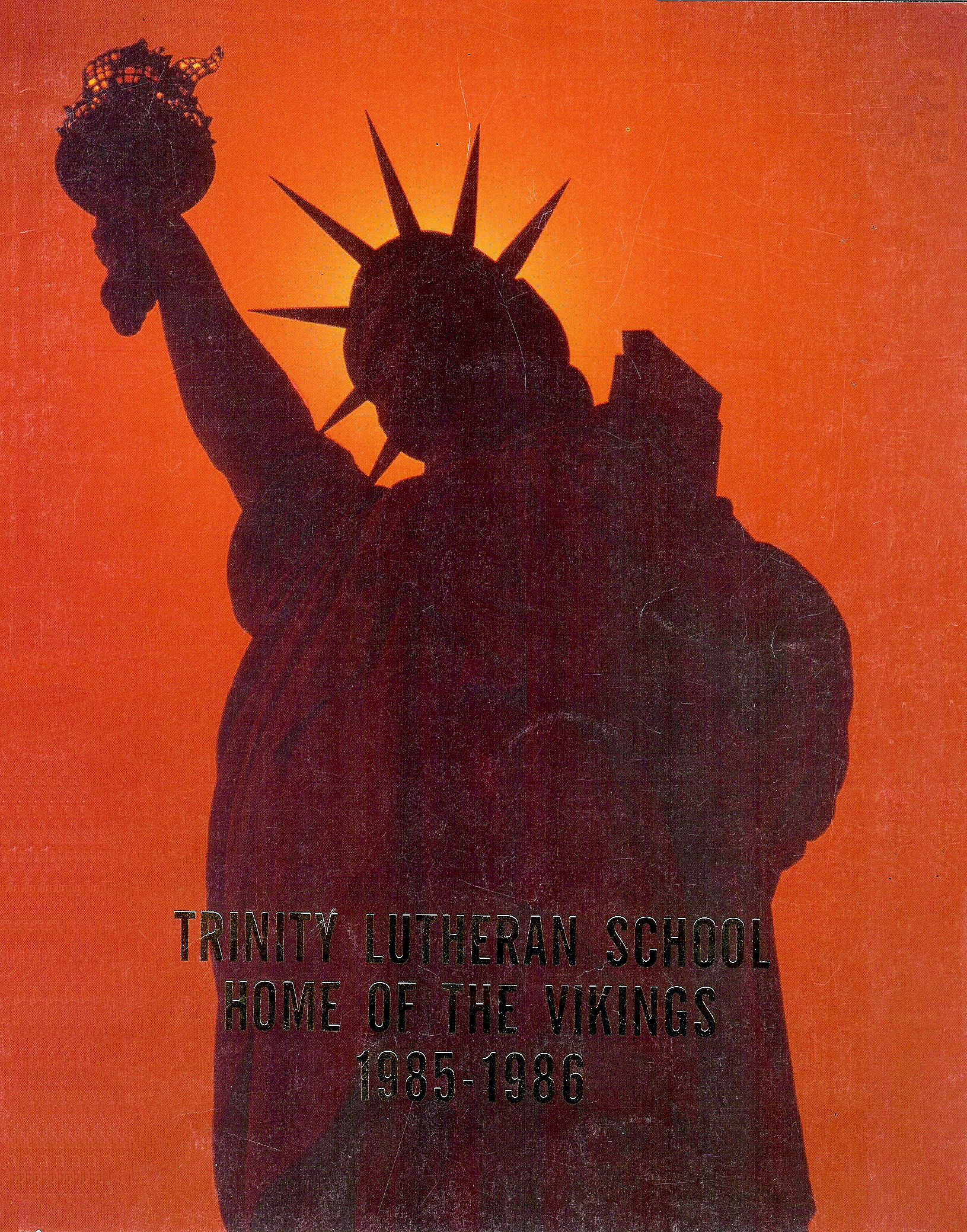 85-86 Yearbook Cover