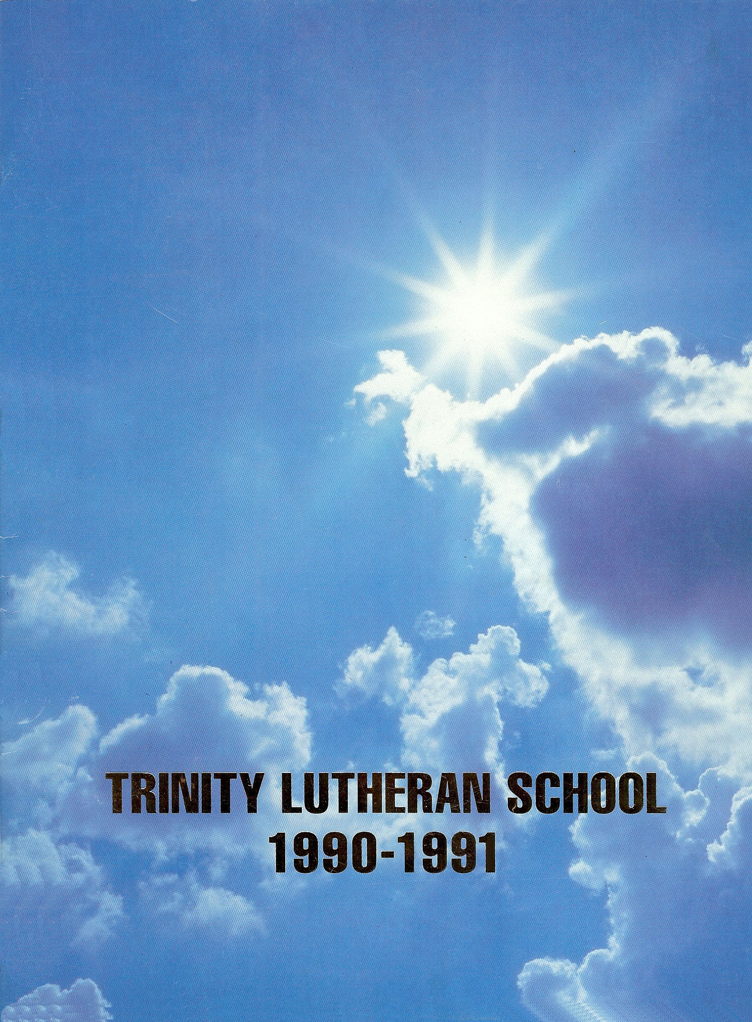 90-91 Yearbook Cover