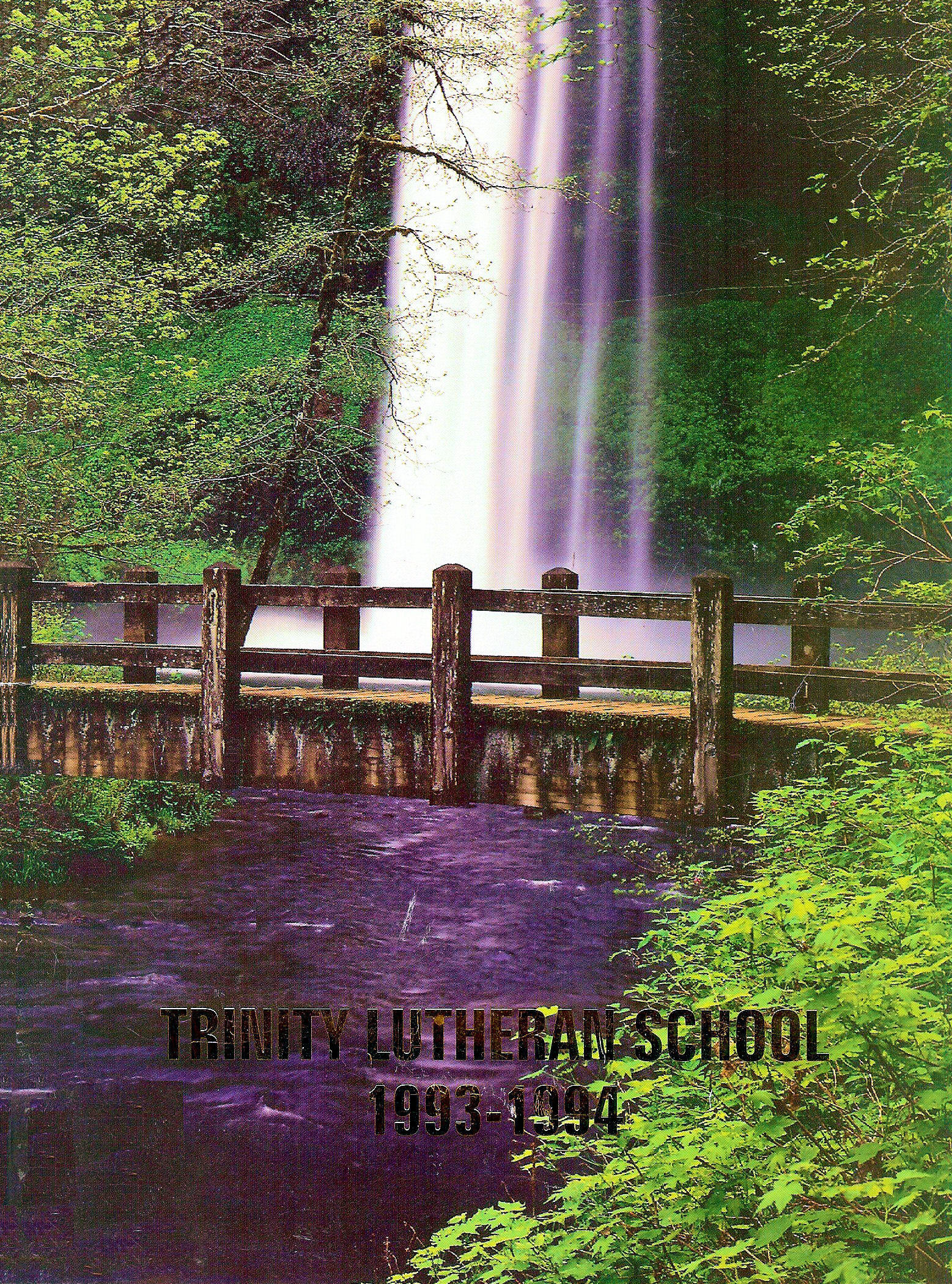 93-94 Yearbook Cover