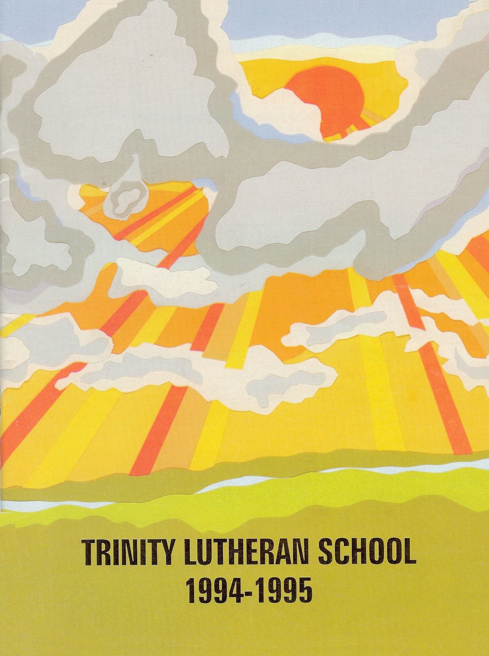 94-95 Yearbook Cover
