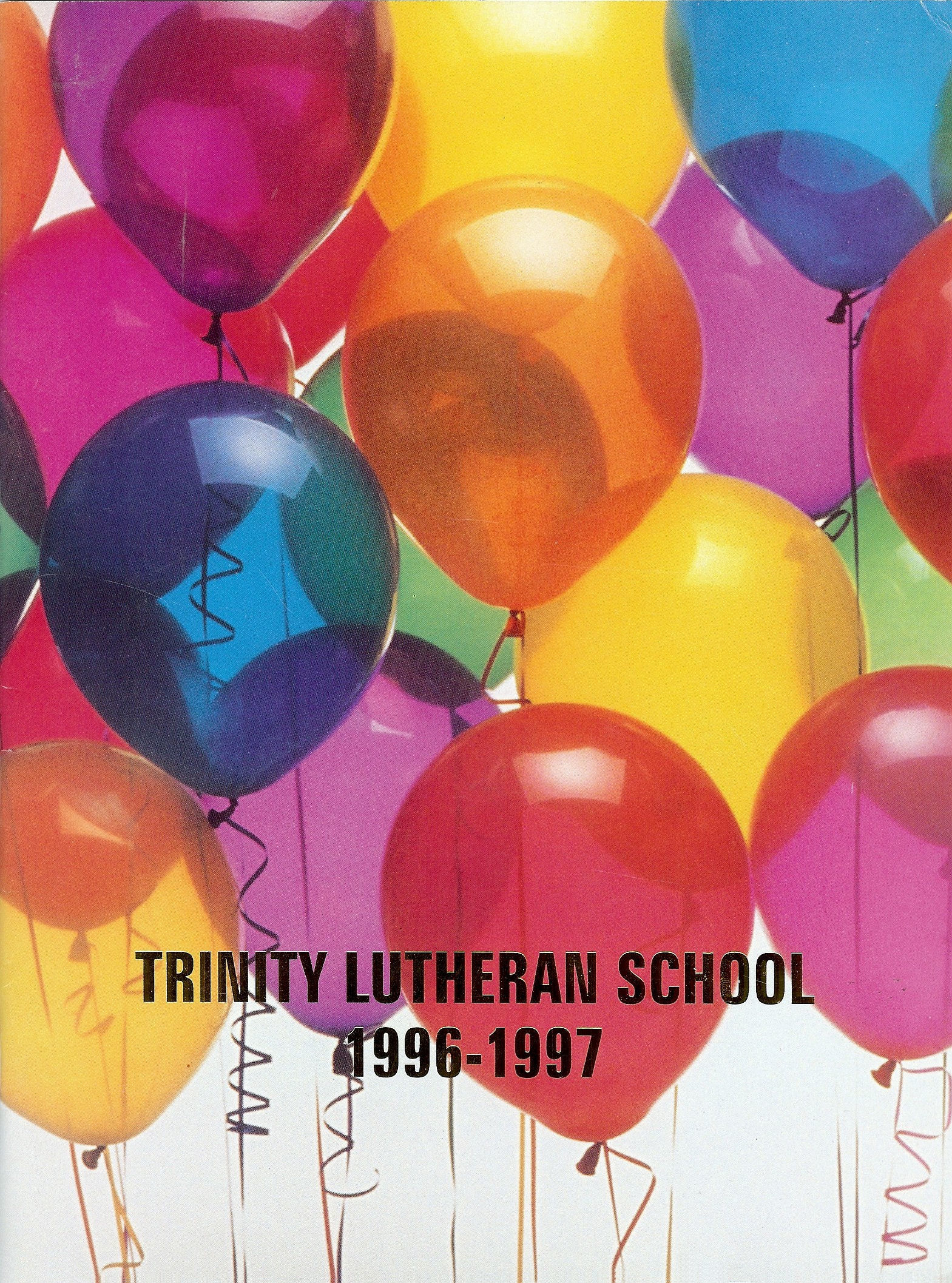 96-97 Yearbook Cover