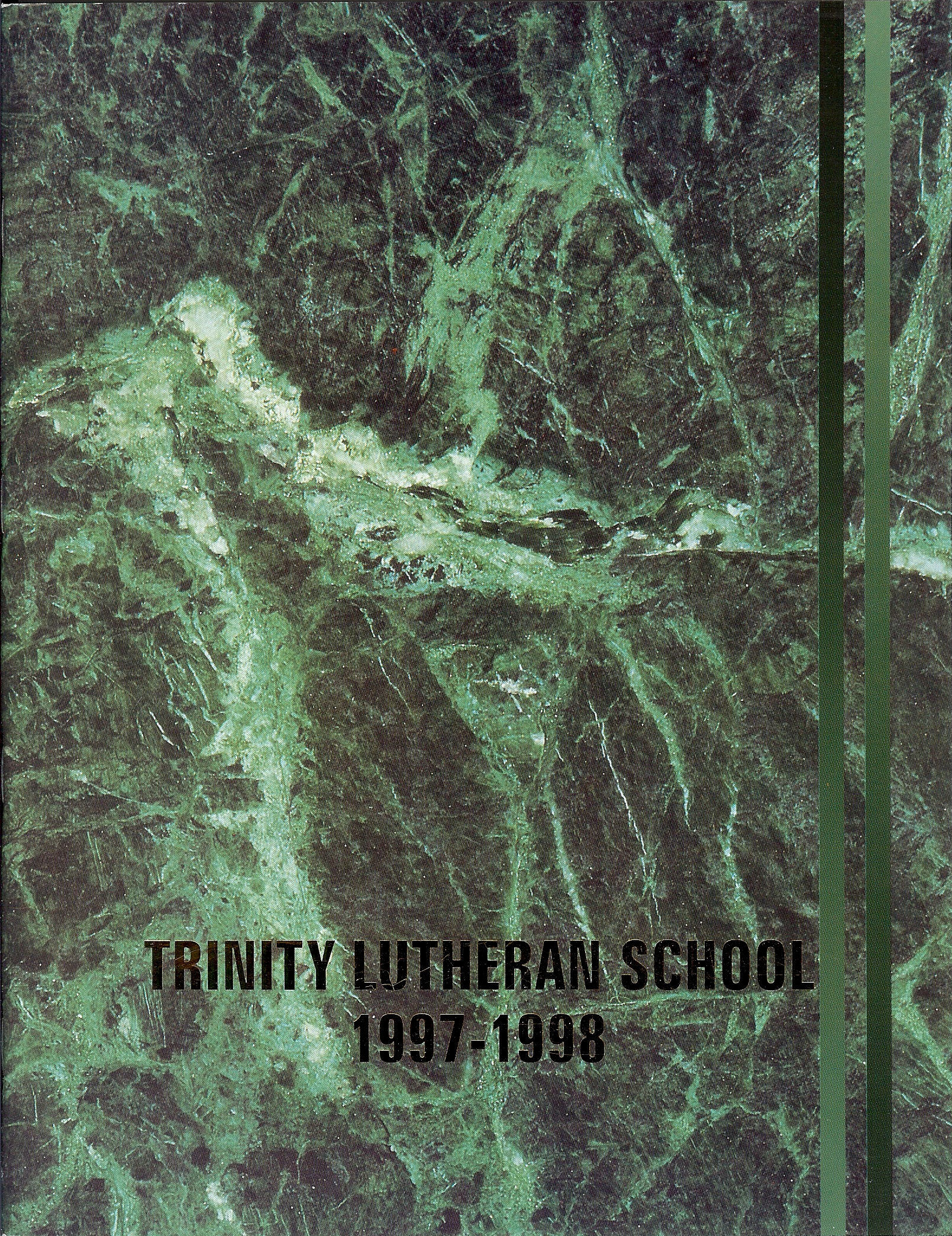 97 - 98 Yearbook Cover