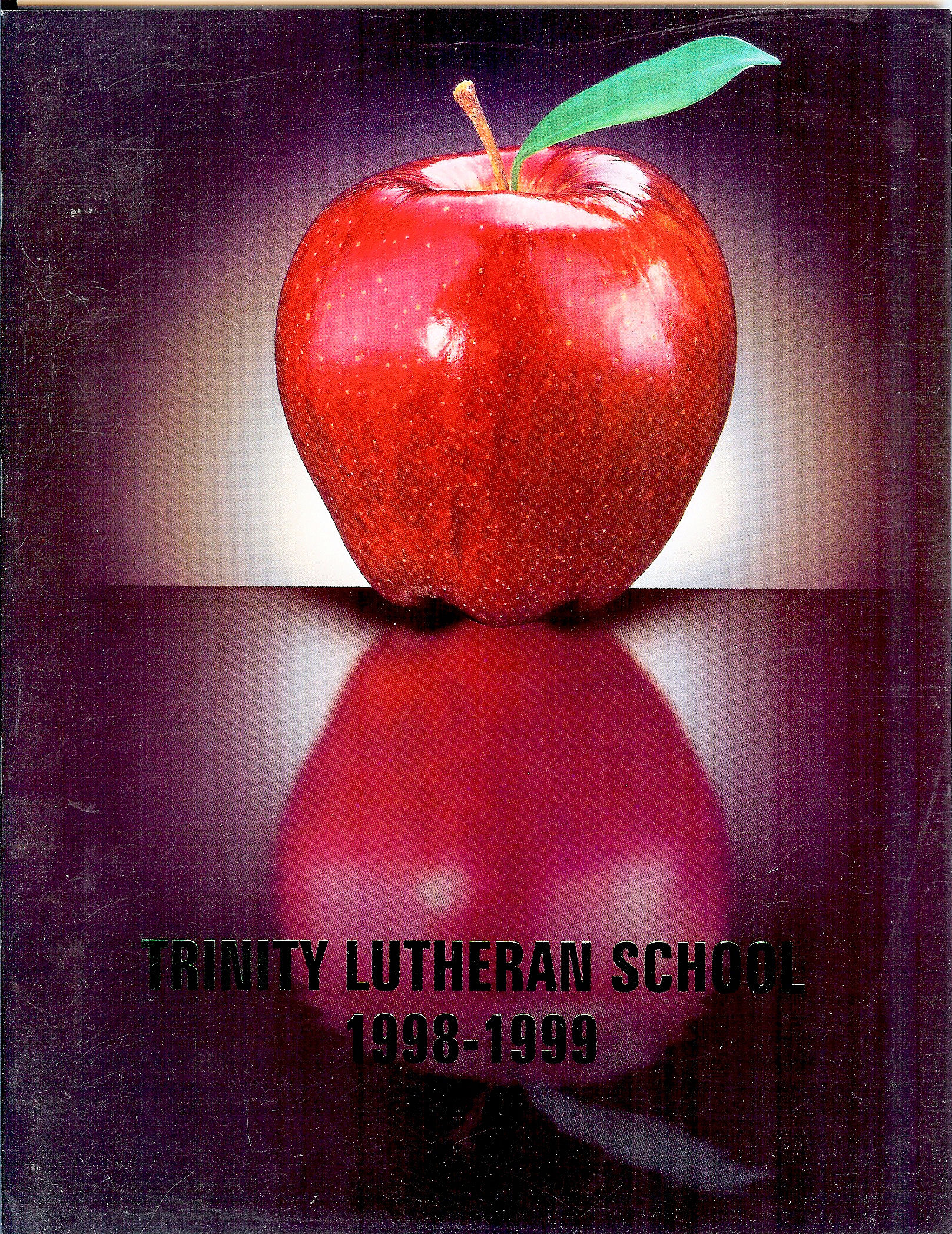 98 - 99 Yearbook Cover