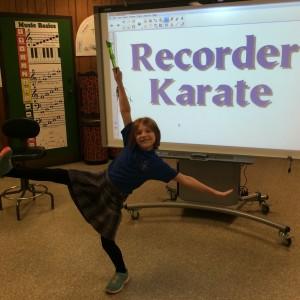 Recorder Karate Black Belts | Trinity Lutheran School