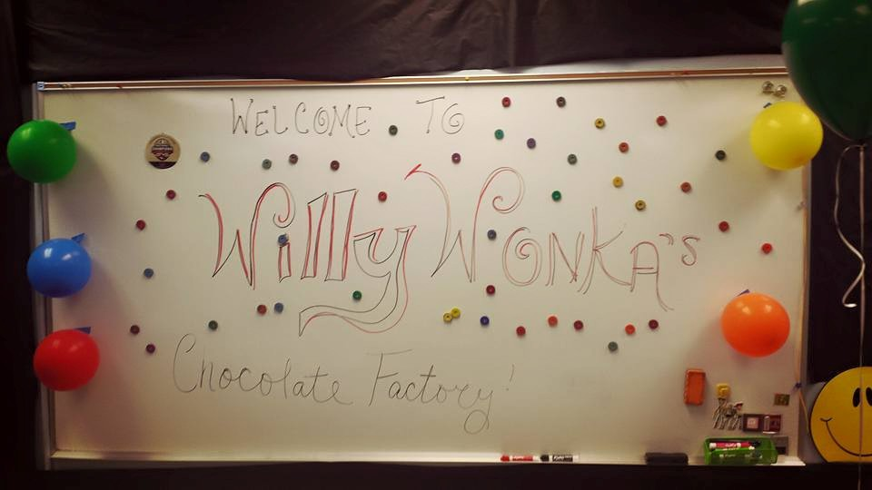 Willie Wonka's Candy Factory