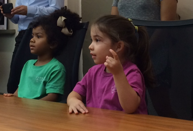 VPK Students in the Conference Room