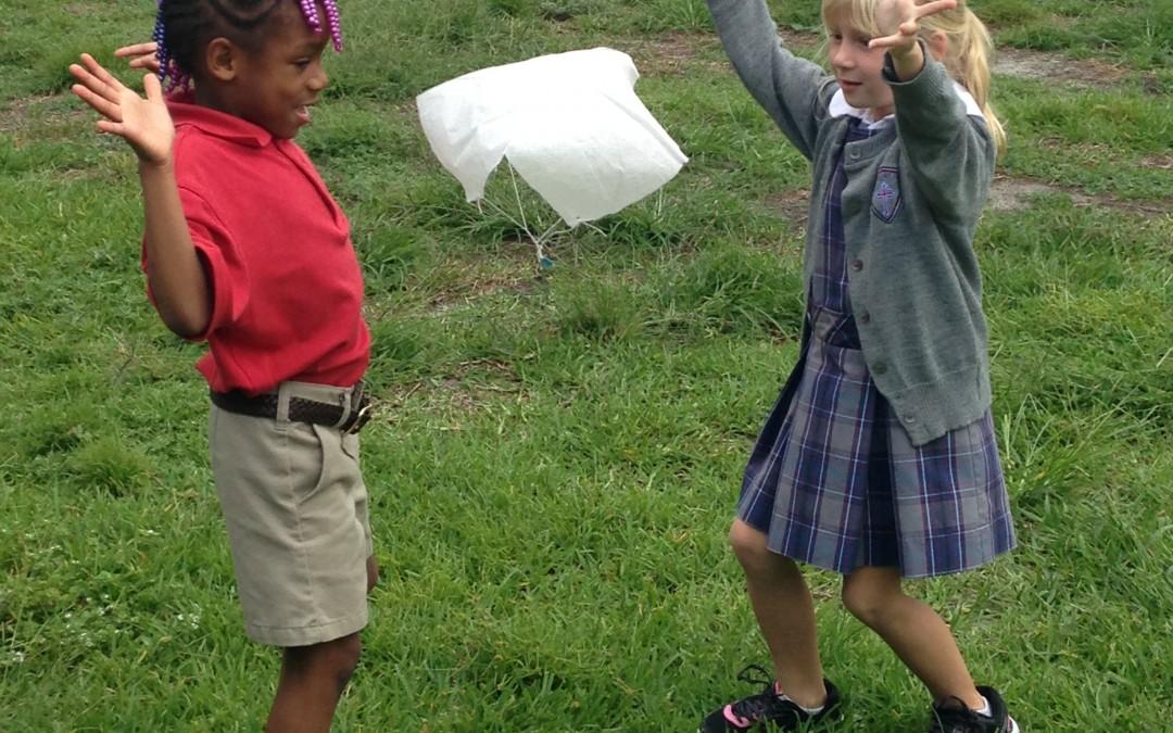 Flying 1st Graders