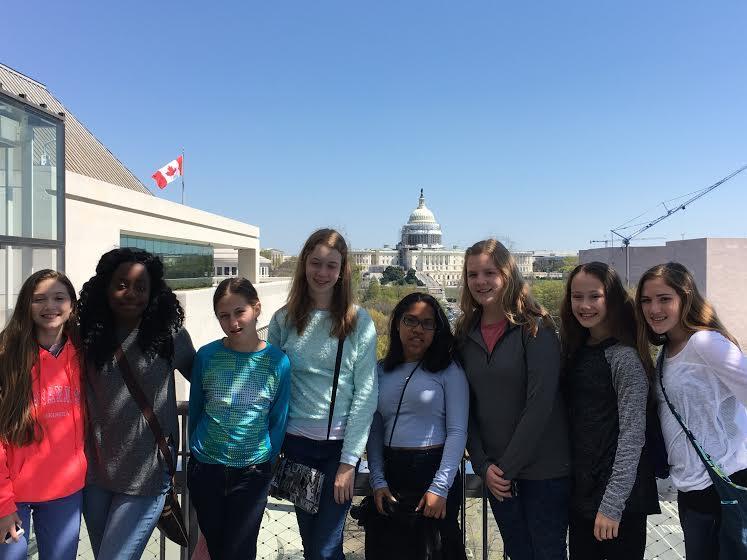 Taking Washington D.C. In Waves