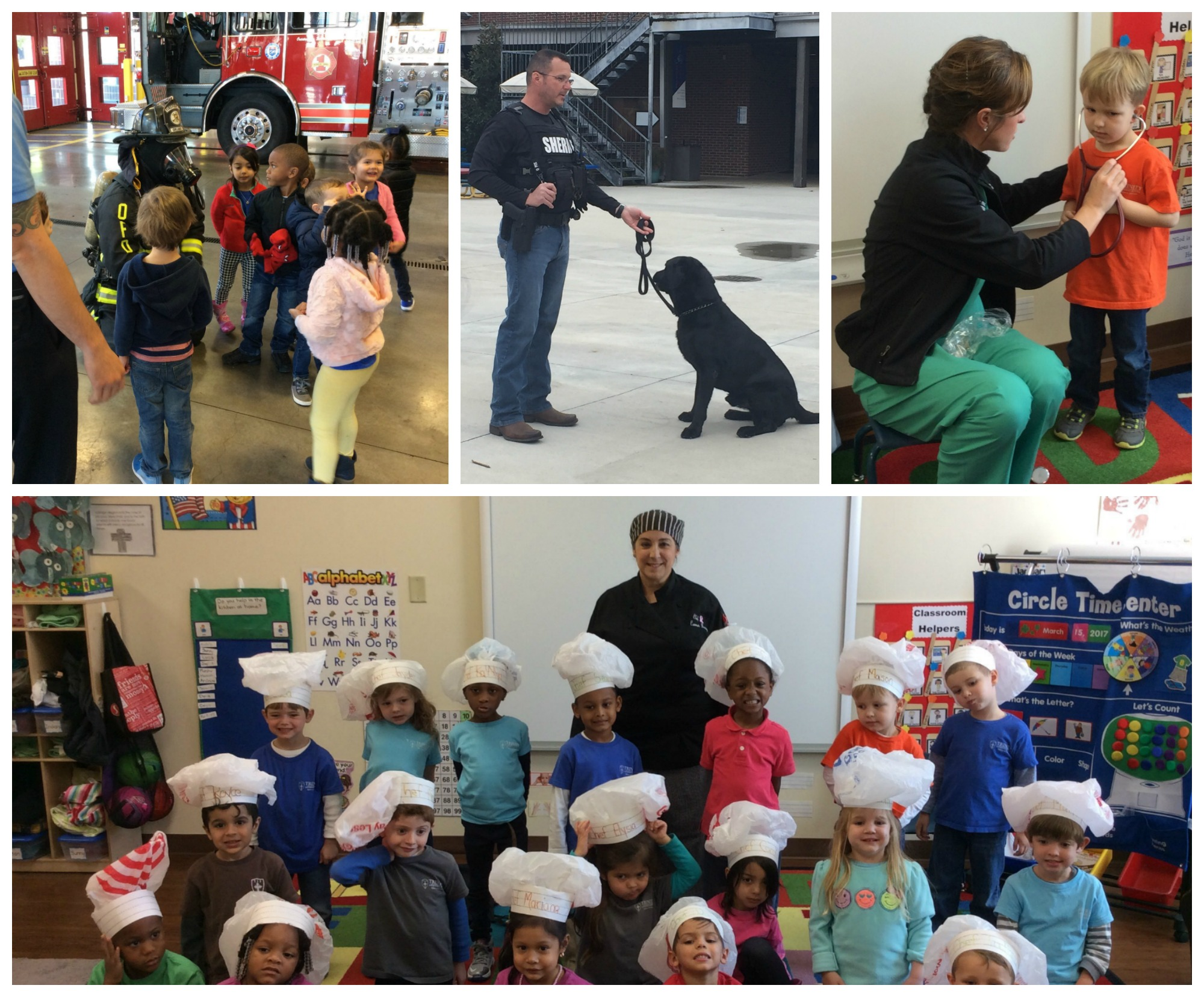 celebrating community helpers trinity lutheran