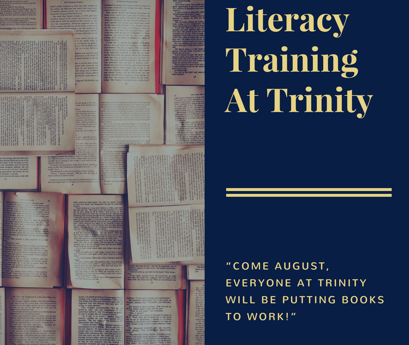 Literacy Training at Trinity