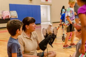 summer camp raptors