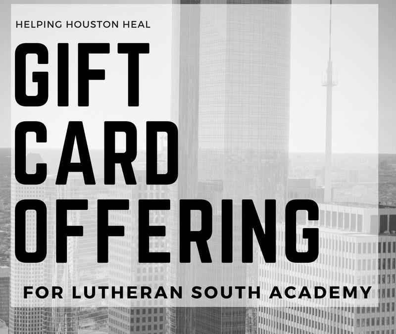 Hurricane Harvey: Gift Card Offering