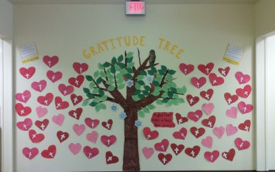 VPK Students Create a Gratitude Tree